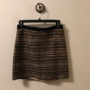 Waverly Grey Sequin Lace Skirt
